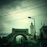 Photo taken at Bab al Khadhra by Ridha B. on 3/13/2013