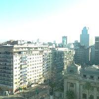 Photo taken at Hotel Mercure Santiago Centro by Gustavo J. on 7/14/2013