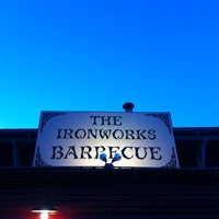 Photo taken at Iron Works BBQ by Emily M. on 2/28/2013