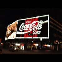 Photo taken at The Coca-Cola Billboard by Mitch S. on 10/14/2012
