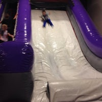 Photo taken at Bounceu Fishers by Candis O. on 3/7/2015