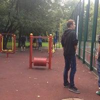Photo taken at Детская площадка by Marina D. on 7/8/2013