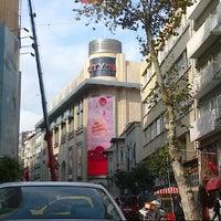 Photo taken at Abdi İpekçi Caddesi by Fatmanur E. on 11/18/2012