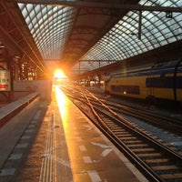 Photo taken at Amsterdam Centraal Railway Station by Dick d. on 7/18/2013