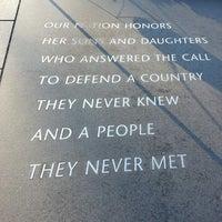 Photo taken at Korean War Veterans Memorial by Katharine G. on 2/14/2013