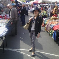 Photo taken at Columbus Ave Flea Market by Vanessa M. on 4/28/2013