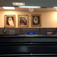 Photo taken at Saudi Arabian Consulate by shadia k. on 6/18/2013