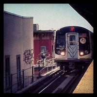 Photo taken at MTA Subway - Myrtle/Wyckoff Ave (L/M) by Robert G. on 3/5/2013