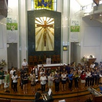 Photo taken at Church of Our Lady Of Perpetual Succour by Dyan T. on 4/13/2013