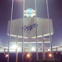 Photo taken at Dodger Stadium by Ermek Z. on 6/11/2013