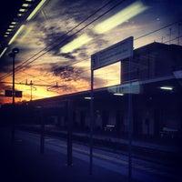 Photo taken at Verona Porta Nuova Railway Station by Claudia T. on 9/17/2013