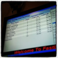 Photo taken at Fast Lap Indoor Kart Racing by Charlie C. on 1/13/2013