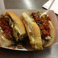 Photo taken at Izzy's Hoagie Shop by GastroBoy A. on 4/13/2013