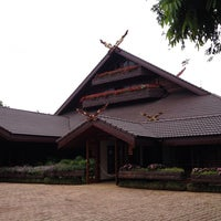 Photo taken at Doi Tung Royal Villa by Julia A. on 5/6/2014