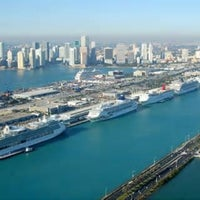 Photo taken at Port of Miami by Michelle Marie P. on 5/31/2013