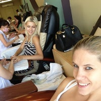 Photo taken at Oasis Nail Spa by Steffi S. on 7/19/2013