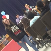 Photo taken at R. Pete Woodard Jr High School by Tonya T. on 1/29/2016