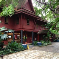 Photo taken at The Jim Thompson House by DJ D. on 7/17/2013