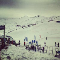 Photo taken at Valle Nevado by Alvaro V. on 7/9/2013