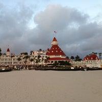 Photo taken at Hotel del Coronado by Stephen F. on 4/2/2013