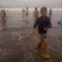 Photo taken at Pantai Pangandaran by Indah R. on 3/29/2013