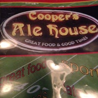 Photo taken at Cooper's Ale House by Richard W. on 3/9/2015