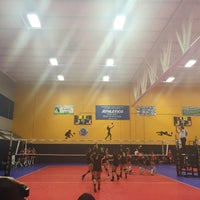 Photo taken at Great Lakes Volleyball Center by Monika B. on 3/6/2016
