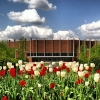 Photo taken at John D Millett Hall by Peter M. on 5/1/2013