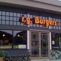 Photo taken at r.g. Burgers by Nicholas M. on 5/22/2013