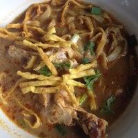 Photo taken at Kao Soi Lamduan Fa Ham by Yuthana K. on 10/11/2012