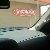 Photo taken at Whataburger by Abe H. on 4/30/2014