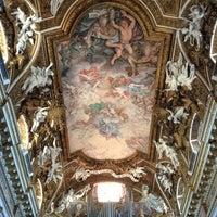 Photo taken at Chiesa di Santa Maria della Vittoria by Nouf A. on 6/21/2013