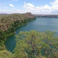 Photo taken at Lake Chala by Ana G. on 11/2/2013