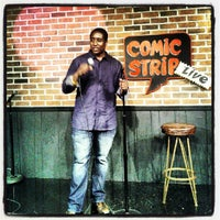 Photo taken at comic strip live by Christian D. on 8/5/2012