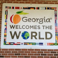 Photo taken at Georgia Welcome Center by Mike M. on 7/21/2012
