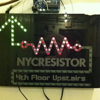 Photo taken at NYC Resistor by Thomas S. on 2/18/2012