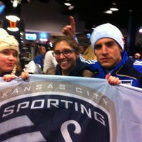 Photo taken at Boulevard Members Club at Sporting Park by Alison M. on 11/3/2011