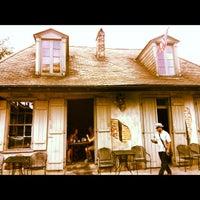 Photo taken at Lafitte's Blacksmith Shop by Elisha P. on 9/7/2012