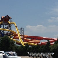 Photo taken at Hawaiian Falls by Paul S. on 6/30/2012