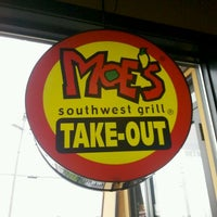 Photo taken at Moe's Southwest Grill by Samantha G. on 10/29/2011