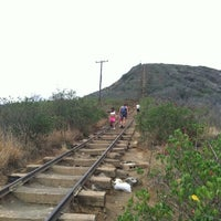 Photo taken at Koko Head Crater Trail by Lisa L. on 7/16/2012