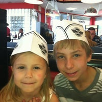 Photo taken at Steak 'n Shake by Caryn S. on 3/25/2012