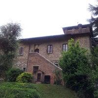 Photo taken at Agriturismo Castello by Carlotta C. on 6/10/2012