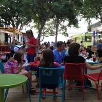 Photo taken at Fort Worth Food Park by Linda H. on 6/17/2012