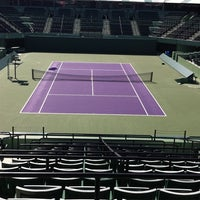 Photo taken at Crandon Tennis Center by Cathy L. on 3/12/2012