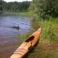 Photo taken at Lake Padden Park by Jesse I. on 6/12/2011