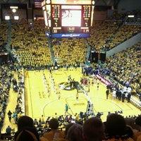 Photo taken at Mizzou Arena by Teri T. on 3/18/2011