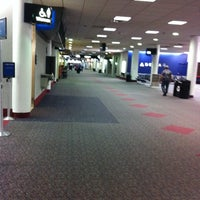 Photo taken at Concourse A by Roger L. on 8/23/2011