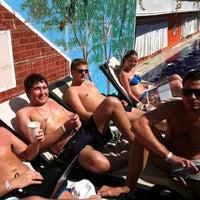 Photo taken at Orange County Swimming Pool by Olga on 9/27/2011