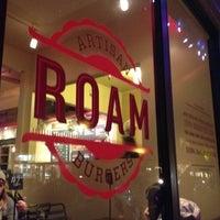 Photo taken at Roam Artisan Burgers by Brian L. on 12/6/2011
